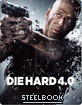 Die Hard 4.0 - Zavvi Exclusive Limited Edition Steelbook (UK Import), neuwertig, fehlerfrei, Prägung + Innenprint
