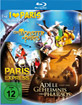 Adèle und das Geheimnis des Pharaos + Ein Monster in Paris + Paris Express (Die I Love Paris Family Box) Blu-ray