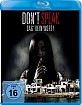 Don't Speak - Sag kein Wort! Blu-ray