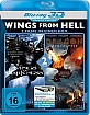 Dragon Apocalypse 3D + Wings of Darkness 3D (Wings From Hell Double Feature) (Blu-ray 3D) Blu-ray