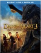 Dragonheart 3 - The Sorcerer's Curse (Blu-ray + DVD + Digital Copy) (US Import ohne dt. Ton) Blu-ray