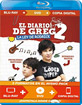 El Diario de Greg 2: Las Reglas De Rodrick (Blu-ray + DVD + Digital Copy) (ES Import) Blu-ray