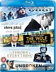 Everest (2015) + Steve Jobs (2015) +  The Wolf Of Wall Street + Theory Of Everything + Unbroken (2014) (Starter Pack) (UK Import Blu-ray