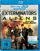 Exterminators vs. Aliens 3D (Blu-ray 3D) Blu-ray