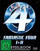 Fantastic Four 1 & 2 - Limited Edition Steelbook Blu-ray