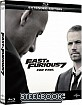 Fast & Furious 7 - Kinofassung und Extended - Paul Walker Commemorative Edition Steelbook (Blu-ray + Bonus DVD) (TW Import ohne dt. Ton) Blu-ray