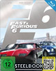 Fast & Furious 6 - Kinofassung und Extended Harder Cut (Steelbook Edition)