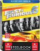Fast & Furious 6 - Future Shop Exclusive Limited Steelbook Edition (Blu-ray + DVD + UV Copy) (CA Import ohne dt. Ton) Blu-ray