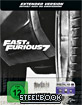 Fast & Furious 7 - Kinofassung und Extended Cut (Limited Edition Steelbook) (Cover A) (Blu-ray + UV Copy)