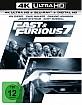 Fast & Furious 7 - Kinofassung und Extended Cut 4K (4K UHD + Blu-ray + UV Copy) Blu-ray
