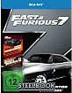 Fast & Furious 7 - Kinofassung und Extended Cut (Limited Steelbook Edition) Blu-ray