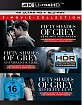 Fifty Shades of Grey 4K (3-Movie Franchise Boxset) (3 4K UHD + 3 Blu-ray + Digital) Blu-ray