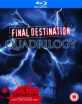Final Destination (1-4) Collection (UK Import ohne dt. Ton) Blu-ray