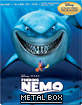 Finding Nemo 3D - Metal Box (Blu-ray 3D + Blu-ray + DVD + Digital Copy) (Quebec-Version) (CA Import ohne dt. Ton) Blu-ray