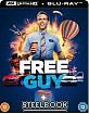 Free Guy (2021) 4K - Zavvi Exclusive Limited Edition Steelbook (4K UHD + Blu-ray) (UK Import) Blu-ray