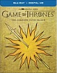 Game of Thrones: The Complete Fifth Season - Best Buy Exclusive Martell Cover (Blu-ray + UV Copy) (US Import) Blu-ray