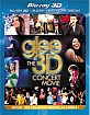 Glee: Le Concert 3D (Blu-ray 3D + Blu-ray + DVD + Digital Copy) (FR Import)