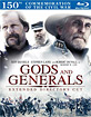 Gods and Generals - Extended Director's Cut - Collector's Book (Blu-ray + Bonus DVD) (US Import)