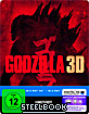 Godzilla (2014) 3D - Limited Edition Steelbook (Blu-ray 3D + Blu-ray + UV Copy) Blu-ray