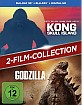 Godzilla (2014) 3D + Kong: Skull Island 3D (Blu-ray 3D + Blu-ray + UV Copy) (2-Film-Collection) Blu-ray