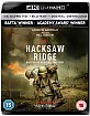 Hacksaw Ridge 4K (4K UHD + Blu-ray + UV Copy) (UK Import ohne dt. Ton) Blu-ray
