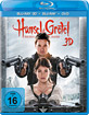Hänsel und Gretel: Hexenjäger 3D (Blu-ray 3D + Blu-ray + DVD) Blu-ray