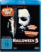 Halloween 5 - Die Rache des Michael Myers (Uncut) (Neuauflage) Blu-ray