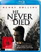 He Never Died Blu-ray