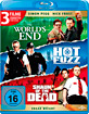 Hot Fuzz + Shaun of the Dead + The World's End (Cornetto Trilogie) Blu-ray