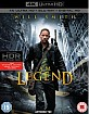 I am Legend 4K (4K UHD + Blu-ray + UV Copy) (UK Import) Blu-ray