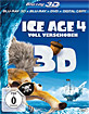 Ice Age 4 - Voll verschoben 3D (Blu-ray 3D + Blu-ray + DVD + Digital Copy) Blu-ray