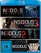 Insidious (2010) + Insidious: Chapter 2 + Insidious: Chapter 3 + Insidious: The Last Key (Limited Edition) Blu-ray