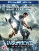 Insurgent (2015) 3D (Blu-ray 3D + Blu-ray) (UK Import ohne dt. Ton) Blu-ray