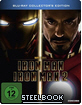 Iron Man 1 & 2 - Limited Steelbook Edition Blu-ray