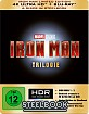 Iron Man Trilogie 4K (Limited Steelbook Edition) (4K UHD + Blu-ray) Blu-ray