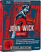 John Wick: Kapitel 2 - Limited Edition Steelbook (CH Import) Blu-ray