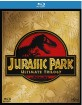 Jurassic Park (1-3) Trilogy (Blu-ray + UV Copy) (3. Neuauflage) (UK Import) Blu-ray