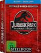Jurassic Park (1-3) Trilogie (Limited Edition Steelbook)