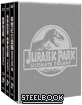 Jurassic Park (1-3) Collection - HDzeta Exclusive Limited Edition Steelbook Boxset (Blu-ray 3D + Blu-ray) (CN Import) Blu-ray