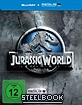 Jurassic World (2015) (Limited Steelbook Edition) (Blu-ray + UV Copy) (Cover A), neuwertig, fehlerfrei, Innenprint