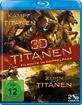 Kampf der Titanen + Zorn der Titanen (Titanen 3D Doppelpack) (Blu-ray 3D) Blu-ray