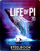 Life of Pi 3D - Steelbook (Blu-ray 3D + Blu-ray) (TH Import) Blu-ray