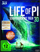 Life of Pi: Schiffbruch mit Tiger 3D - Collector's Edition (Blu-ray 3D + Blu-ray + DVD)