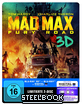 Mad Max: Fury Road (2015) 3D - Limited Edition Steelbook (Blu-ray 3D + Blu-ray + UV Copy) Blu-ray