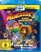 Madagascar 3: Flucht durch Europa 3D (Blu-ray 3D + Blu-ray + DVD) Blu-ray
