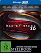 Man of Steel 3D - Steelbook (Blu-ray 3D + Blu-ray)