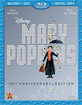 Mary Poppins - 50th Anniversary Edition (Blu-ray + DVD + Digital Copy) (CA Import ohne dt. Ton) Blu-ray