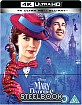 Mary Poppins Returns 4K - Zavvi Exclusive Limited Edition Steelbook (4K UHD + Blu-ray) (UK Import ohne dt. Ton)