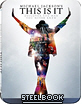 Michael Jackson - This is it - Steelbook (Region A - CN Import ohne dt. Ton) Blu-ray