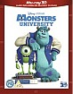 Monsters University 3D (Blu-ray 3D + Blu-ray) (UK Import ohne dt. Ton) Blu-ray